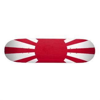 Drapeau du Japon Soleil Levant Plateaux De Skateboards Customisés