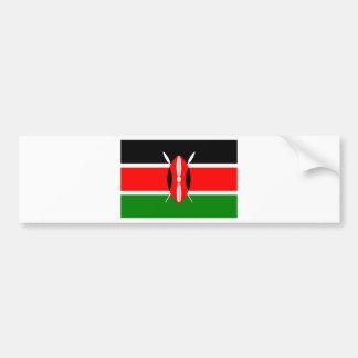 Drapeau du Kenya Autocollant Pour Voiture