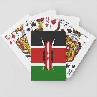 Drapeau du Kenya Jeu De Cartes