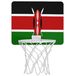 Drapeau du Kenya Mini-panier De Basket