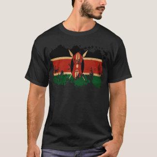 Drapeau du Kenya T-shirt