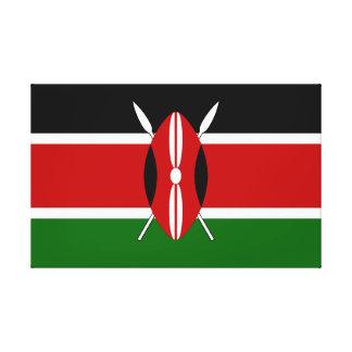 Drapeau du Kenya Toile