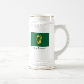 Drapeau du Leinster Chope À Bière