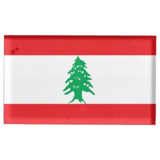 Drapeau du Liban Porte-photos
