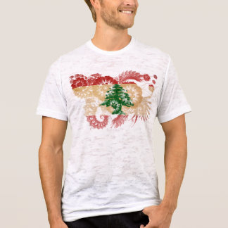 Drapeau du Liban T-shirt