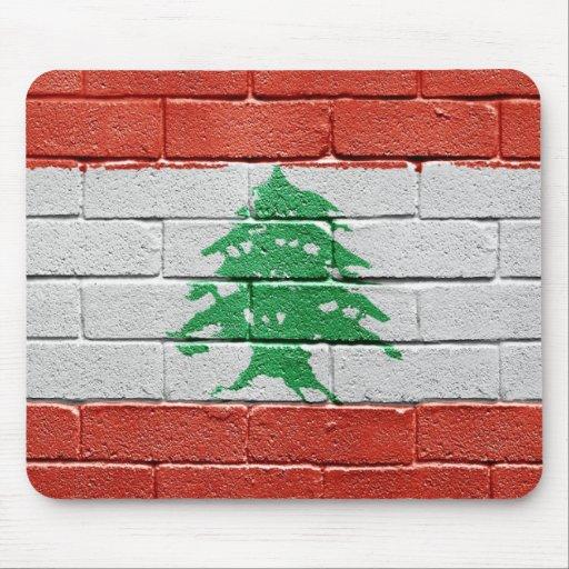 Drapeau du liban tapis de souris zazzle for Surface minimum bureau code du travail