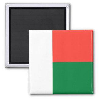 Drapeau du Madagascar Magnets Pour Réfrigérateur