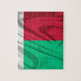 Drapeau du Madagascar Puzzle