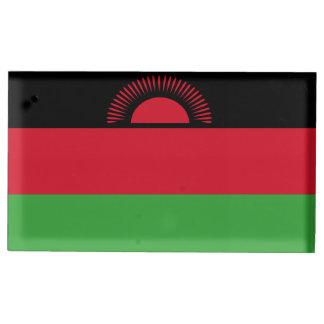 Drapeau du Malawi Porte-cartes De Table