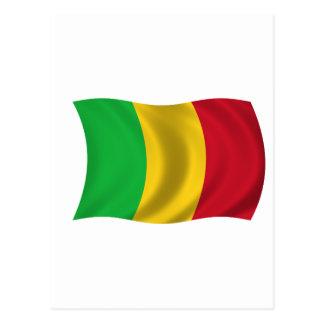 Drapeau du Mali Carte Postale