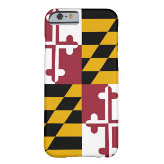 Drapeau du Maryland Coque Barely There iPhone 6