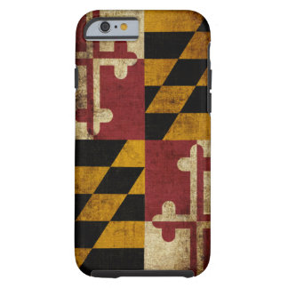 Drapeau du Maryland Coque iPhone 6 Tough