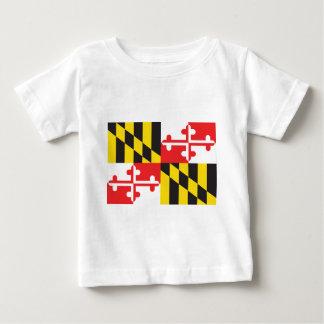 Drapeau du Maryland T-shirt Pour Bébé