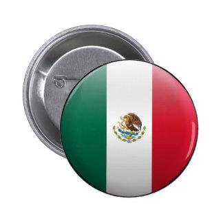 Drapeau du Mexique Badge Avec Épingle