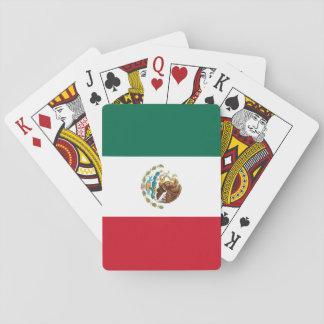 Drapeau du Mexique Cartes À Jouer