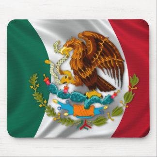 Drapeau du Mexique, manteau des bras Tapis De Souris