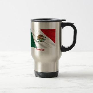 Drapeau du Mexique Mug De Voyage