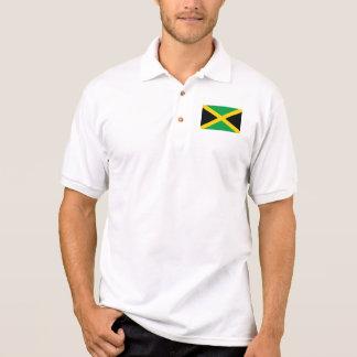 Drapeau du monde de la Jamaïque Polo
