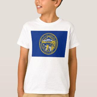 Drapeau du Nébraska T-shirt