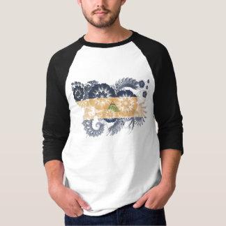 Drapeau du Nicaragua T-shirt