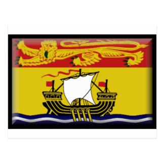 Drapeau du Nouveau Brunswick Carte Postale