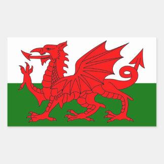 Drapeau du Pays de Galles Adhésif