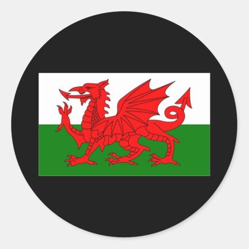 Drapeau du Pays de Galles Adhésifs