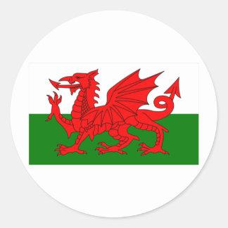 Drapeau du Pays de Galles Autocollants