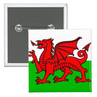Drapeau du Pays de Galles Badge