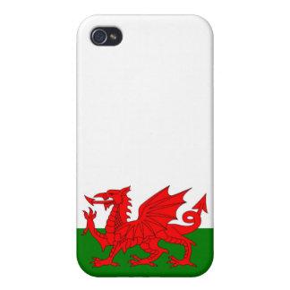 Drapeau du Pays de Galles Étuis iPhone 4