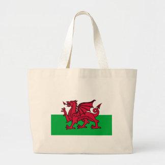 Drapeau du Pays de Galles Grand Sac