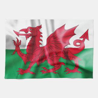 Drapeau du Pays de Galles Serviettes Pour Les Mains