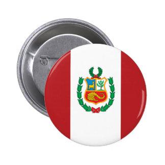 Drapeau du Pérou Badge