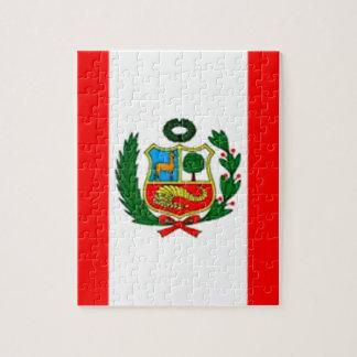 Drapeau du Pérou Puzzle