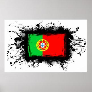 Drapeau du Portugal Poster