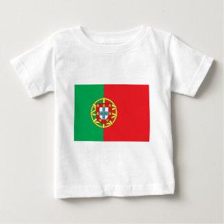 Drapeau du Portugal T-shirt Pour Bébé