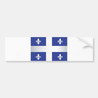 Drapeau du Québec Autocollant Pour Voiture