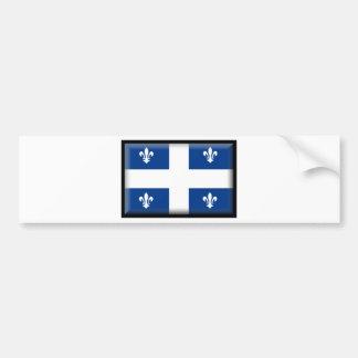 Drapeau du Québec (Canada) Autocollant De Voiture