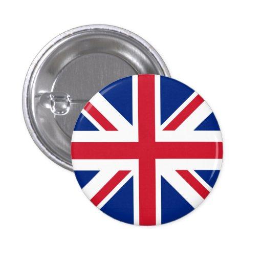 Drapeau du Royaume-Uni Badges Avec Agrafe