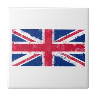 Drapeau du Royaume-Uni ou d'Union Jack Petit Carreau Carré