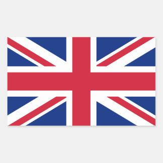Drapeau du Royaume-Uni Sticker Rectangulaire
