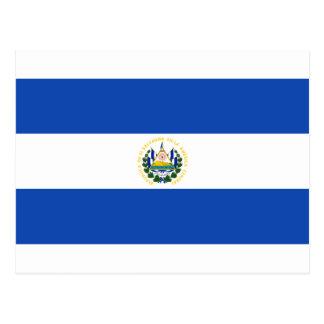 Drapeau du Salvador - Bandera De Salvador Carte Postale