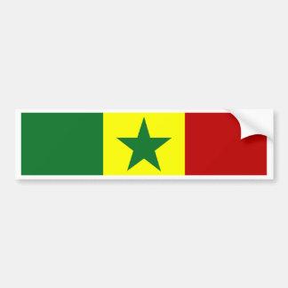 Drapeau du Sénégal Adhésifs Pour Voiture