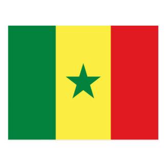 Drapeau du Sénégal Carte Postale