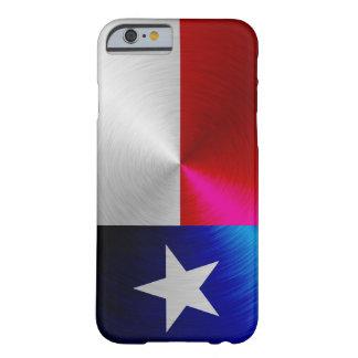 Drapeau du Texas ; cas de l'iPhone 6 de métal-rega Coque Barely There iPhone 6