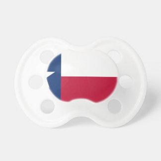 Drapeau du Texas - fierté texane Tétines Pour Bébé