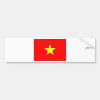 Drapeau du Vietnam Autocollant Pour Voiture