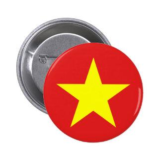 Drapeau du Vietnam - bouton Badges