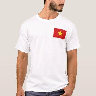 Drapeau du Vietnam et T-shirt de carte