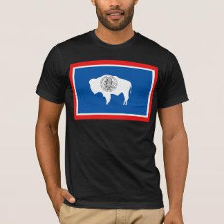 Drapeau du Wyoming T-shirt